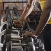 You'll need access to an array of dumbbells at the gym while using P90X.