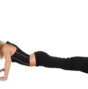Frequent push-ups can help build stronger core muscles.