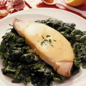 Vitamin D-rich swordfish can help your body absorb calcium from spinach.