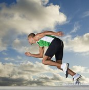 Alactic anaerobic respiration provides most of your energy during short sprints.