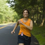 Running is a great fat-burning exercise.