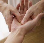 Massage stimulates blood flow, reducing puffiness.