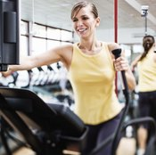 Elliptical machines are a low-impact alternative to treadmills.