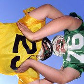 A strong neck is essential in contact sports like football.