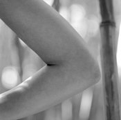 Triceps dips mainly involve elbow joint movements.