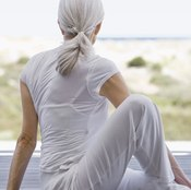 Stretching can help loosen tight lower-back muscles.