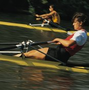 Rowing is more of a full-body sport than running.