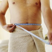 You can estimate your neck and waist body fat by measuring their circumference.