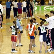 Netball attracts more girls than boys.