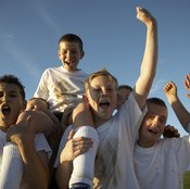 Soccer team-building activities aren't limited to the playing field.