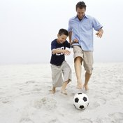 Play games with your kids to improve reaction time together.