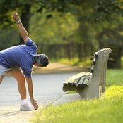 Touching your toes after a run may not help you go faster.
