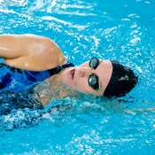 Proper breathing is essential when swimming a quarter mile.