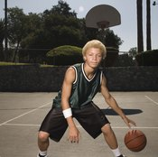 Playing basketball can help you keep in shape.
