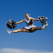 You don't have to be able to do the full splits to do this jump -- just get as close as you're able.