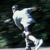 Exercise your heart and burn calories with roller skating.