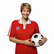 Soccer is an active sport that helps you lose weight.