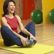 The butterfly stretch targets muscles in your inner thighs.