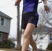 Tight shin muscles can contribute to the development of shin splints when you run.