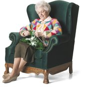 Sit and Be Fit urges you to use your chair for more than knitting.