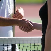 Tennis players are defaulted for flagrant violations.