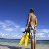 Swim fins are used for snorkeling, diving and other types of swimming.