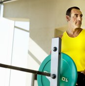 A decline chest press positions your head lower than the rest of your body.