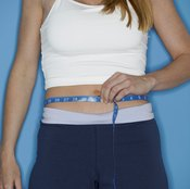 Waist measurements are sometimes used as an indicator of weight loss progress.