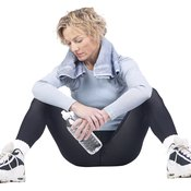 Resting your thighs helps relieve muscle soreness.