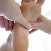Stretching your foot flexors is good for foot and leg health.