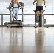 A workout partner makes exercise fun while you're burning calories.