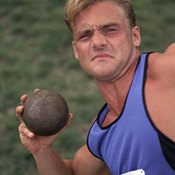 Success in shotput involves much more than just arm strength.