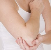 Elbows are examples of hinge joints.