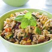 Small bowl of healthy risotto