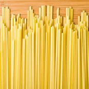Gluten-free pasta made from quinoa is a good source of amino acids.