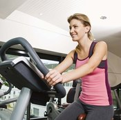 Stationary bikes provide an ideal low-impact exercise.