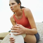Avoid any curling motions while recovering from a knee injury.