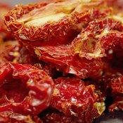 Sun-dried tomatoes provide protein, vitamin A and vitamin K.