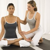 Consult a qualified instructor to coach you safely into lotus pose.