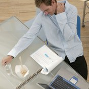 Your desk job may be at the root of your aching neck.