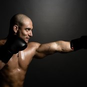 Your lats and biceps play a role in each punch you throw.