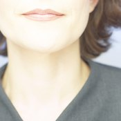 """A weak mylohyoid muscle may create the appearance of a """"double chin."""""""