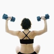 Seated or standing, the overhead press is a great exercise.