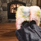 Elevating your feet and legs can help reduce swelling.