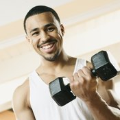 Spice up basic biceps curls by rotating your forearms outward.