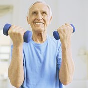 Lifting weights can stimulate bone growth.