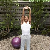 Plug your yoga ball tight before your workout.
