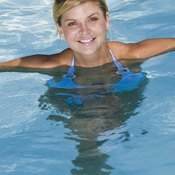 Your above-ground swimming pool is an ideal and convenient environment for shallow-water exercises.
