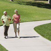 Walking is a healthy, gait-improving exercise.