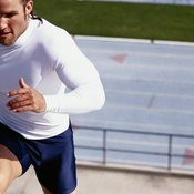 Running stairs is an excellent cardiovascular exercise.